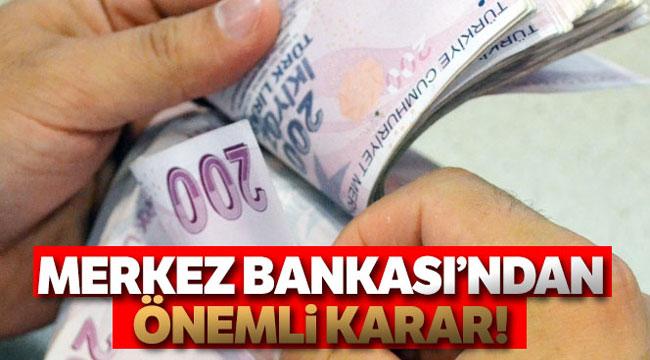 MERKEZ BANKASI'NDAN ZORUNLU KARŞILIKLARA İLİŞKİN AÇIKLAMA