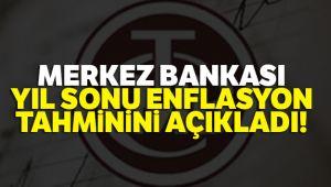 MERKEZ BANKASI YIL SONU ENFLASYON TAHMİNİNİ AÇIKLADI