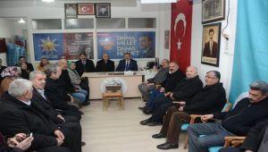MİLLETVEKİLİ YURDUNUSEVEN DİNAR'DA HALK GÜNÜ TOPLANTISINA KATILDI