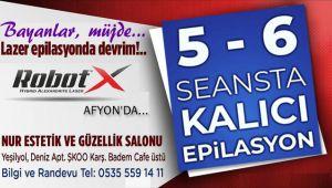 ROBOTX HİBRİT LAZER EPİLASYON SİSTEMİ AFYON'DA