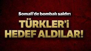 SOMALİ'DE TÜRK MÜTEAHHİTLERE BOMBALI SALDIRI