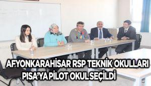 RSP TEKNİK KOLEJİ, PISA'YA PİLOT OKUL