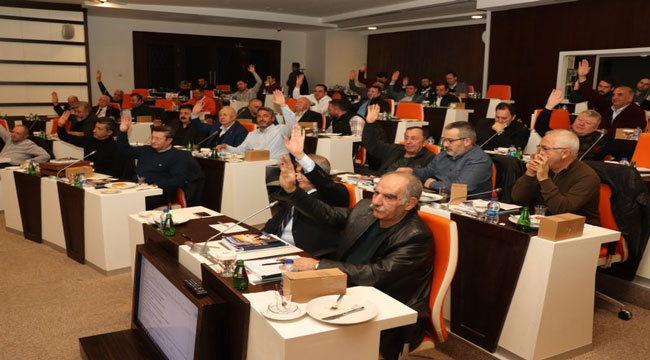 ATSO MECLİSİ'NİN ŞUBAT AYI OLAĞAN TOPLANTISI YAPILDI