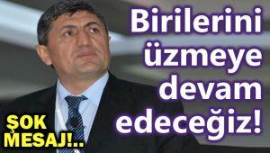 BAŞKAN ULUTÜRK'TEN FLAŞ GÖNDERME!..