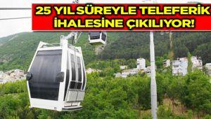 KALEYE TELEFERİK İHALEYE ÇIKIYOR!..