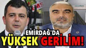 EMİRDAĞ'DA YÜKSEK GERİLİM!..
