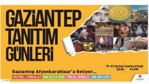 GAZİANTEP, AFYONKARAHİSAR'A GELİYOR!..
