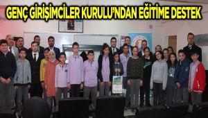 GENÇ GİRİŞİMCİLER KURULU'NDAN EĞİTİME DESTEK