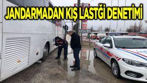 JANDARMADAN KIŞ LASTİĞİ DENETİMİ