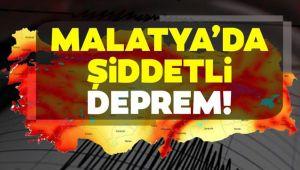 MALATYA'DA 5.1 BÜYÜKLÜĞÜNDE DEPREM