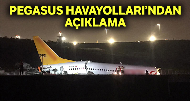 PEGASUS HAVAYOLLARINDAN AÇIKLAMA