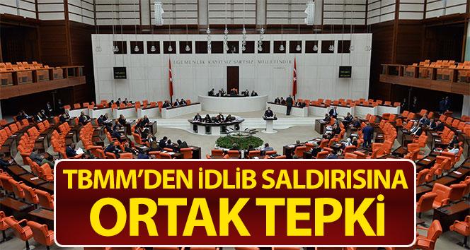 TBMM'DEN HAİN SALDIRIYA ORTAK TEPKİ