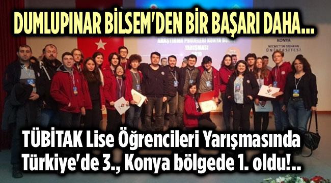 TÜBİTAK LİSE ÖĞRENCİLERİ ARAŞTIRMA YARIŞMASINDA AFYON DAMGASI!..