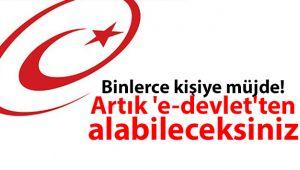 46 TAPU İŞLEMİ ARTIK E-DEVLET'TE