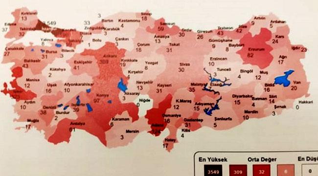 AFYON'DA 10 COVID-19 VAKASI OLDUĞU İDDİASI