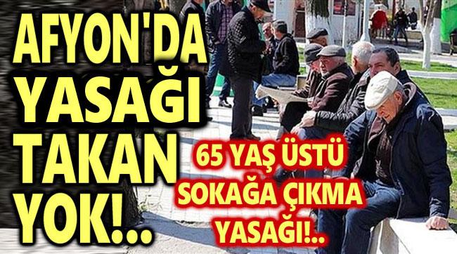 AFYON'DA YASAĞI TAKAN YOK!..