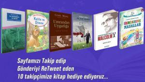 BELEDİYE'DEN 10 TAKİPÇİSİNE KİTAP SETİ