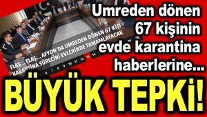EVDE KARANTİNAYA BÜYÜK TEPKİ!..