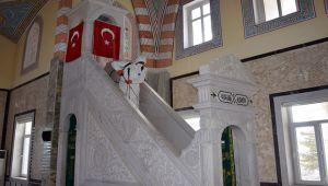 İSCEHİSAR'DA CAMİLER DEZENFEKTE EDİLDİ
