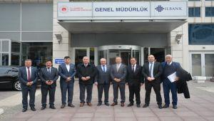 MHP'Lİ BELEDİYE BAŞKANLARINDAN İLBANK'A ZİYARET