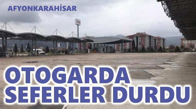 OTOGARDA SEFERLER DURDU!..