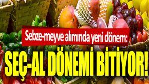 PAZARDA MARKETTE SEÇ-AL DÖNEMİNE ARA!..