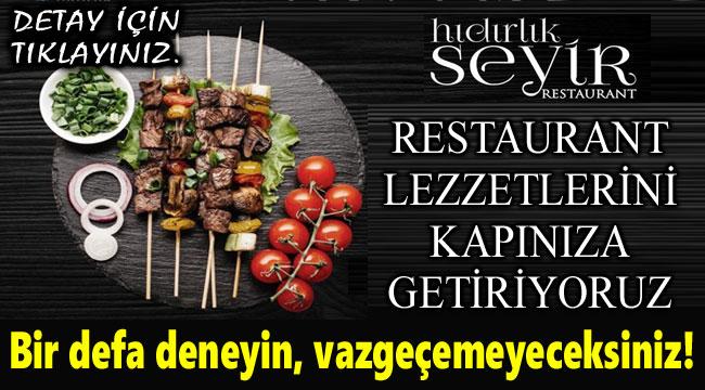 RESTAURANT LEZZETLERİNİ KAPINIZA GETİRİYORUZ!..