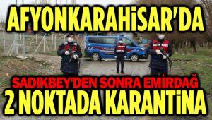 SADIKBEY VE EMİRDAĞ'DA TEDBİRLER ARTTIRILDI!..