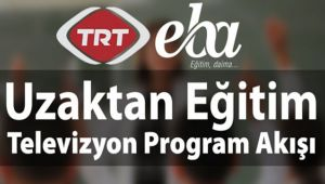 TRT EBA TV YAYIN AKIŞI, DERS PROGRAMI