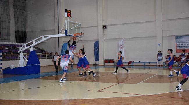 TÜRKİYE BASKETBOL FEDERASYONU U18 ERKEKLER 2. BÖLGE ŞAMPİYONASI AFYON'DA YAPILIYOR