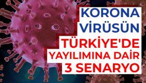 TÜRKİYE'DE COVID-19'LA İLGİLİ 3 SENARYO!..