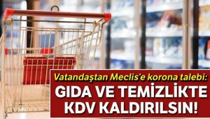 VATANDAŞTAN MECLİS'E 'KORONA' TALEBİ