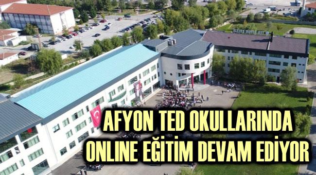 AFYON TED OKULLARINDA ONLINE EĞİTİM