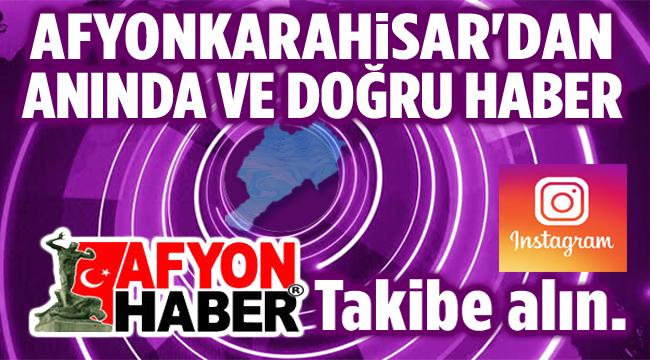 AFYONHABER INSTAGRAM SAYFASI, TAKİPTE KALINIZ...