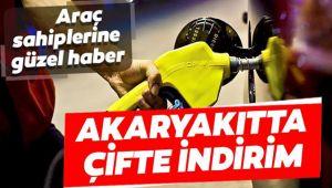 AKARYAKITTA ÇİFTE İNDİRİM!..