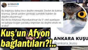 ANKARA KUŞU'NUN AFYONKARAHİSAR BAĞLANTILARI?!..