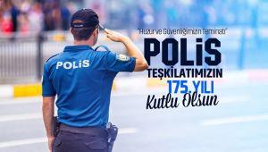 BAŞKAN ZEYBEK'TEN POLİS HAFTASI MESAJI
