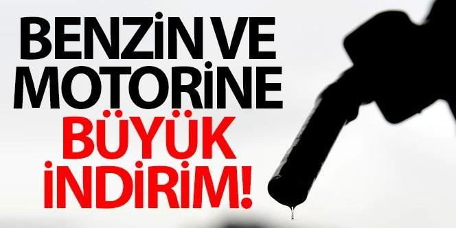 BENZİN VE MOTORİNE BÜYÜK İNDİRİM!..