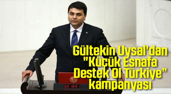 DEMOKRAT PARTİ'DEN KÜÇÜK ESNAF KAMPANYASI