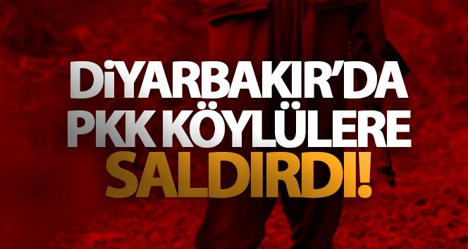 DİYARBAKIR'DA PKK SALDIRISI: 5 KÖYLÜ HAYATINI KAYBETTİ