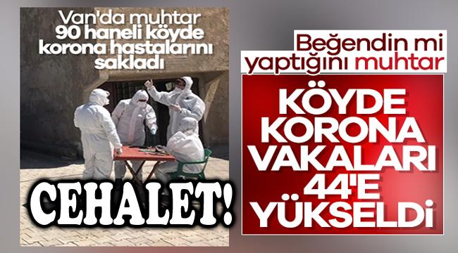 MUHTARIN CEHALETİ KÖYE PAHALIYA PATLADI!..