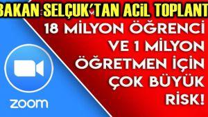 ÖRETMEN VE ÖĞRENCİLERE ZOOM TEHLİKESİ!..