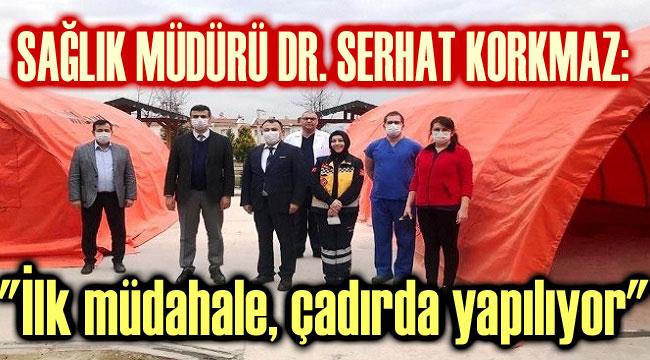DR. SERHAT KORKMAZ, DEVLET HASTANESİNDE