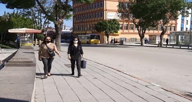 AFYON'DA MASKE DENETİMLERİ BAŞLADI