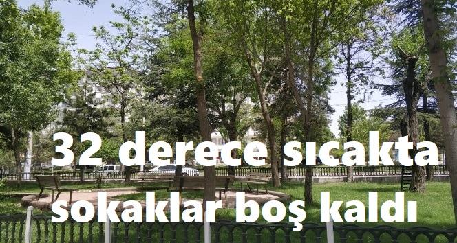 AFYON'DA SOKAKLAR BOŞ KALDI