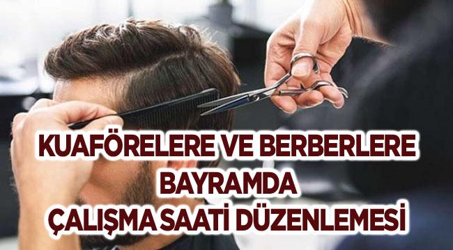 BERBERLERE BAYRAM DÜZENLEMESİ GELDİ