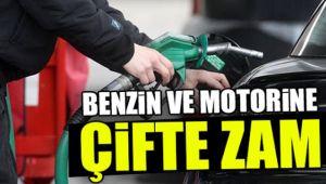 BU GECE BENZİN VE MOTORİNE ZAM GELİYOR