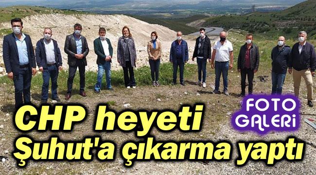 CHP, ŞUHUT'A ÇIKARMA YAPTI!..