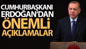 CUMHURBAŞKANI ERDOĞAN'DAN FLAŞ AÇIKLAMALAR!..