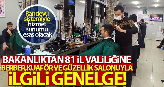 KUAFÖR VE GÜZELLİK SALONLARI AÇILIYOR, İŞTE KURALLAR!..